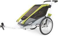 Детская коляска Thule Chariot Cougar 2 Avocado Желтый