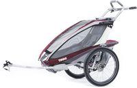 Детская коляска Thule Chariot CX 2 Burgundy Темно-Красный