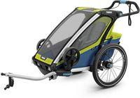 Детская коляска Thule Chariot Sport 1 Chartreuse-Mykonos Зеленый