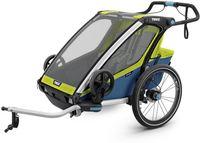 Детская коляска Thule Chariot Sport 2 Chartreuse-Mykonos Зеленый