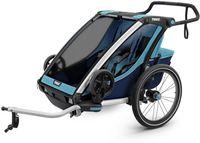 Детская коляска Thule Chariot Cross 2 Blue-Poseidon Синий