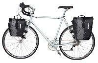 Велосипедная сумка Thule Shield Pannier S Black